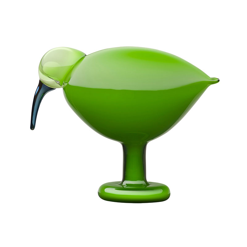 Iittala Birds by Toikka 205x165mm Green Ibis by Oiva Toikka