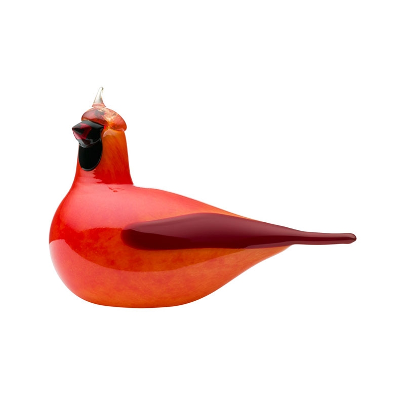 Iittala Birds by Toikka 210x145mm Red Cardinal by Oiva Toikka