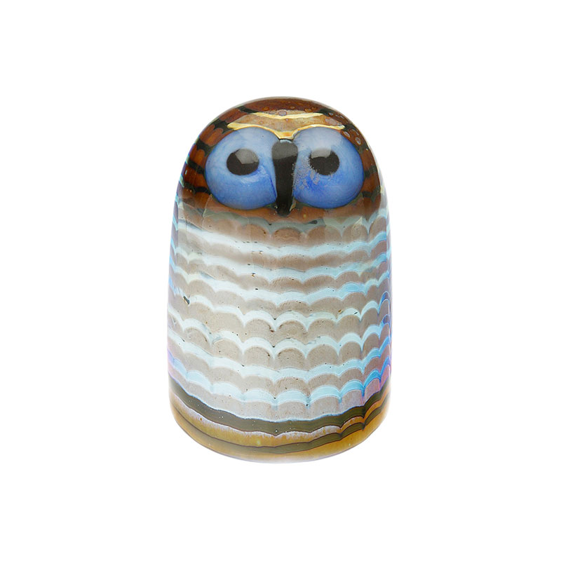 Iittala Birds by Toikka 75x105mm Owlet by Oiva Toikka