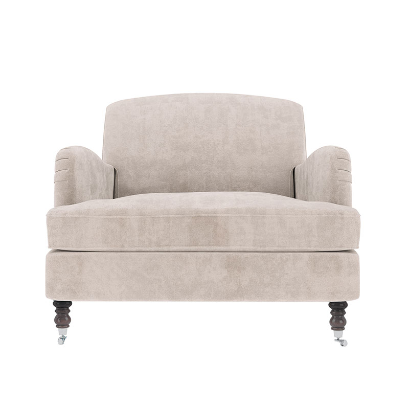 Olson and Baker Anning Armchair by Olson and Baker Studio Olson and Baker - Designer & Contemporary Sofas, Furniture - Olson and Baker showcases original designs from authentic, designer brands. Buy contemporary furniture, lighting, storage, sofas & chairs at Olson + Baker.