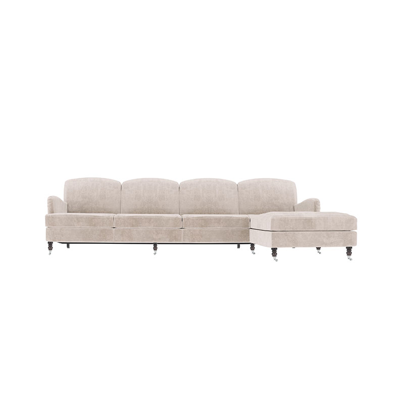 Olson and Baker Anning Four Seat Corner Sofa with Chaise by Olson and Baker Studio