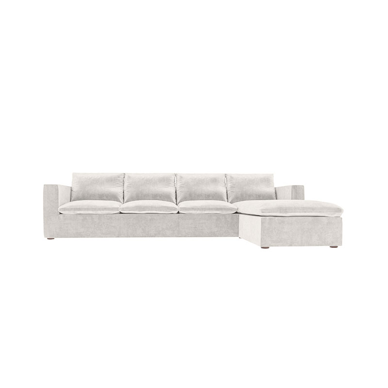 Olson and Baker Bose Four Seat Corner Sofa with Chaise by Olson and Baker Studio