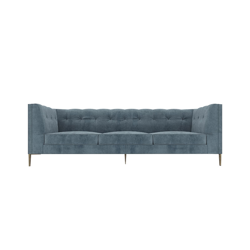 Olson and Baker Fleming Three Seat Sofa by Olson and Baker Studio