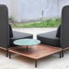 Stellar Works Arc Highback Two Seat Sofa by Hallgeir Homstvedt