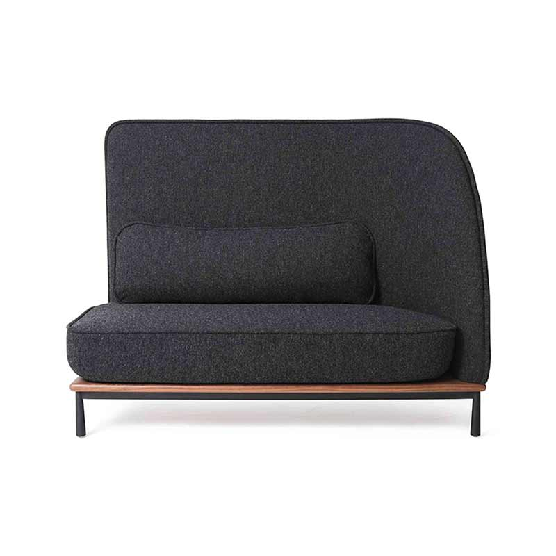 Stellar Works Arc Right Highback Two Seat Sofa by Hallgeir Homstvedt