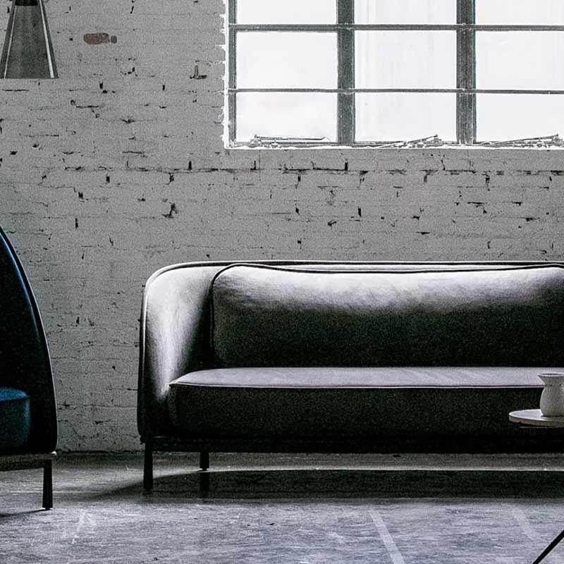 Stellar Works Arc Three Seat Sofa by Hallgeir Homstvedt 3