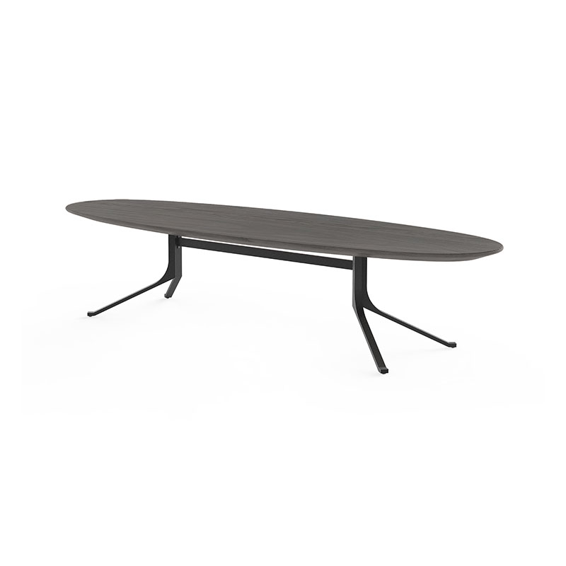 Stellar Works Blink Oval Coffee Table by Yabu Pushelberg