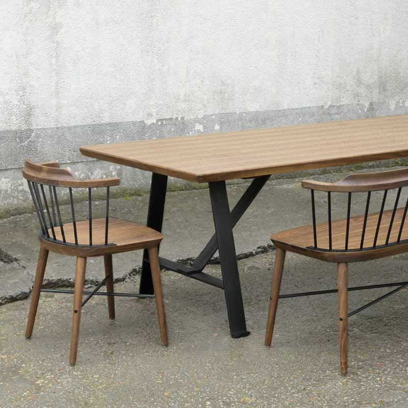 Stellar Works Exchange 180cm Dining Table by Crème 2