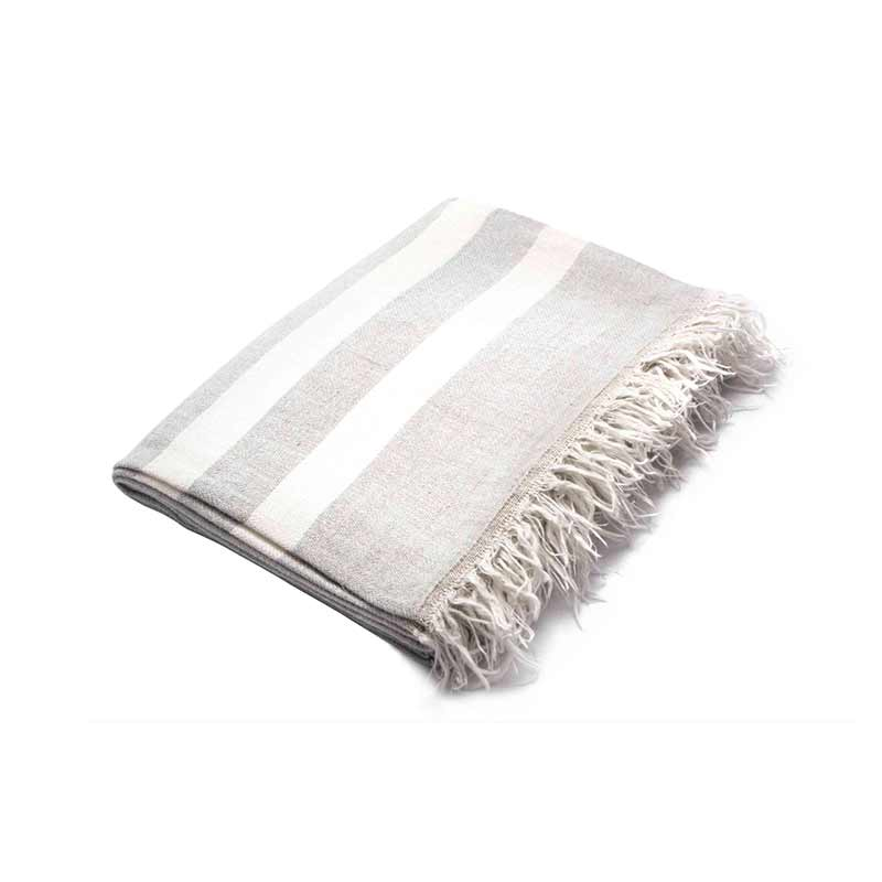 Stellar Works Linen Blanket by