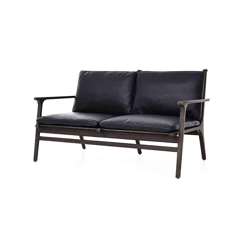Stellar Works Ren Two Seat Sofa by Space Copenhagen Olson and Baker - Designer & Contemporary Sofas, Furniture - Olson and Baker showcases original designs from authentic, designer brands. Buy contemporary furniture, lighting, storage, sofas & chairs at Olson + Baker.