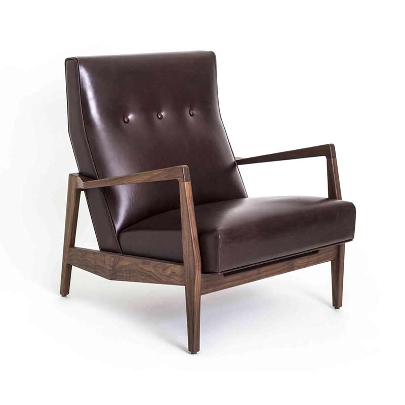 Stellar Works Risom Lounge Chair by Jens Risom Olson and Baker - Designer & Contemporary Sofas, Furniture - Olson and Baker showcases original designs from authentic, designer brands. Buy contemporary furniture, lighting, storage, sofas & chairs at Olson + Baker.