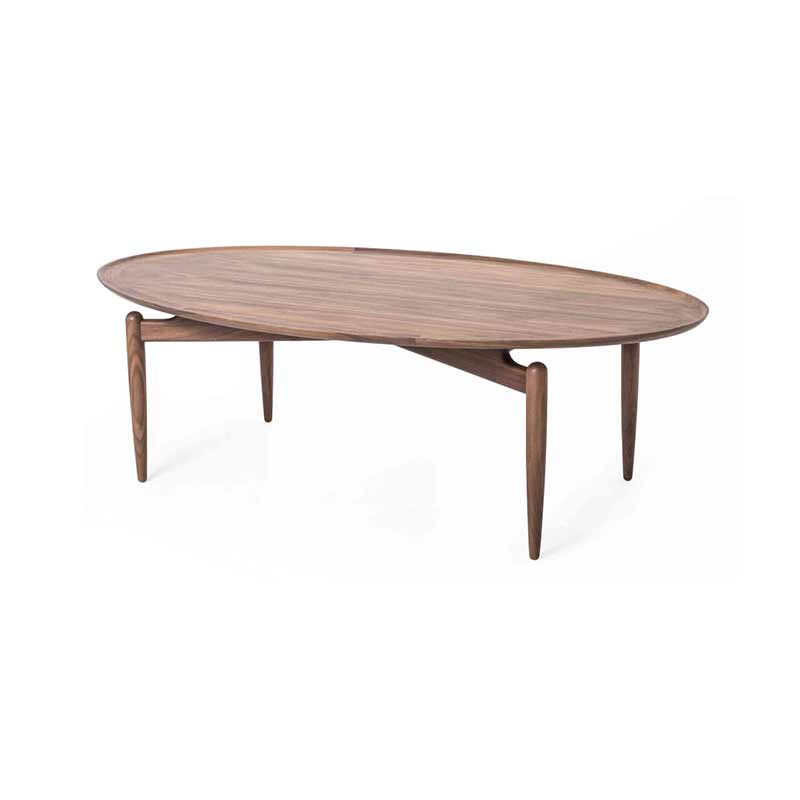 Stellar Works Slow Oval Coffee Table by OeO Studio Olson and Baker - Designer & Contemporary Sofas, Furniture - Olson and Baker showcases original designs from authentic, designer brands. Buy contemporary furniture, lighting, storage, sofas & chairs at Olson + Baker.