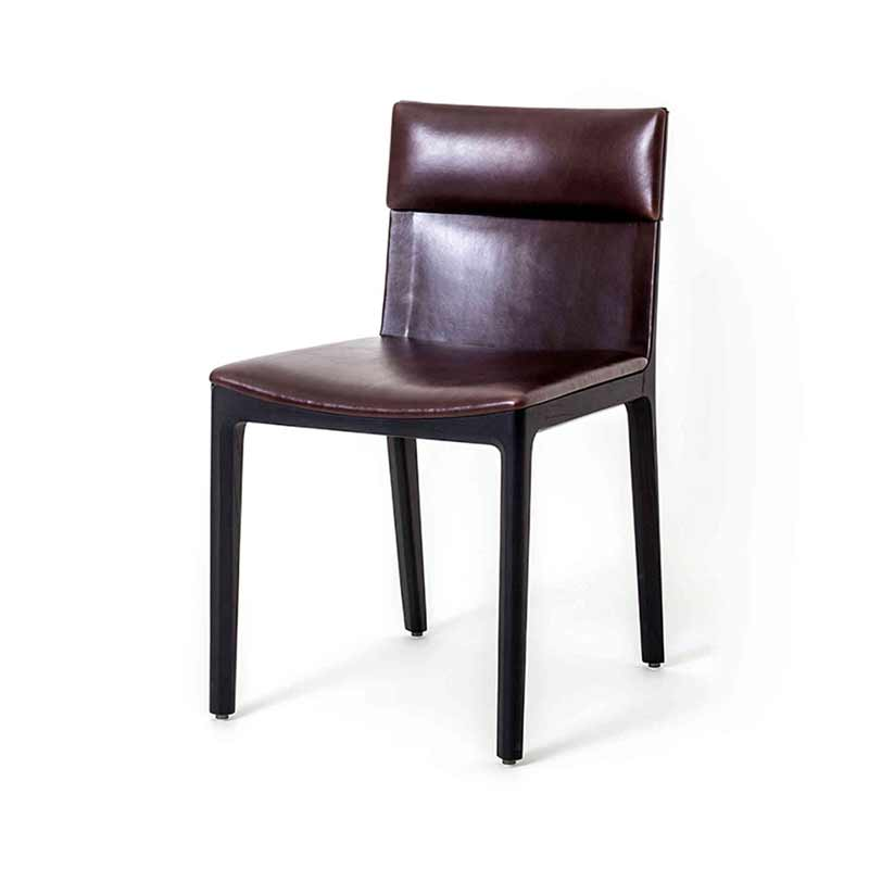 Stellar Works Taylor Dining Chair by Yabu Pushelberg Olson and Baker - Designer & Contemporary Sofas, Furniture - Olson and Baker showcases original designs from authentic, designer brands. Buy contemporary furniture, lighting, storage, sofas & chairs at Olson + Baker.
