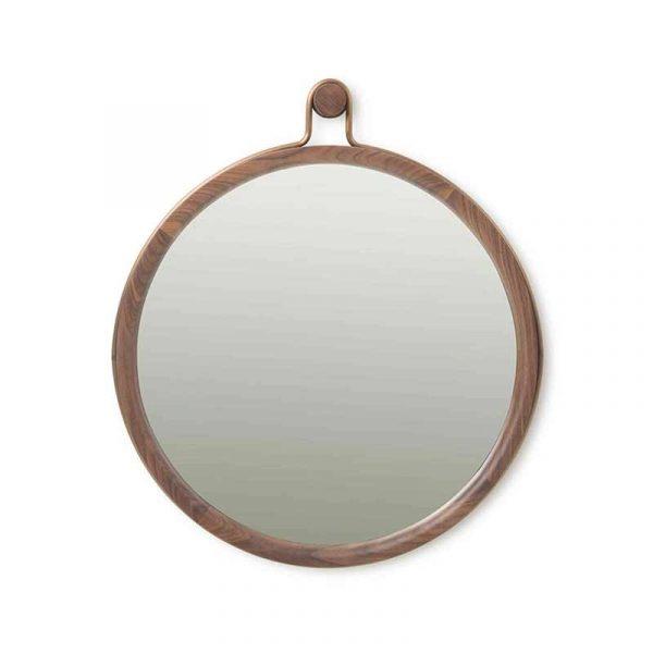 Utility Round Mirror