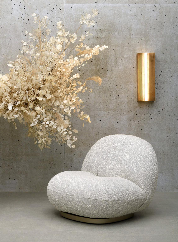 Gubi Pacha Lounge Chair 649 lifestyle