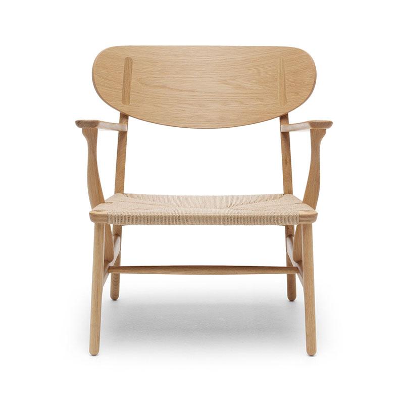 Carl Hansen CH22 Lounge Chair by Hans Wegner