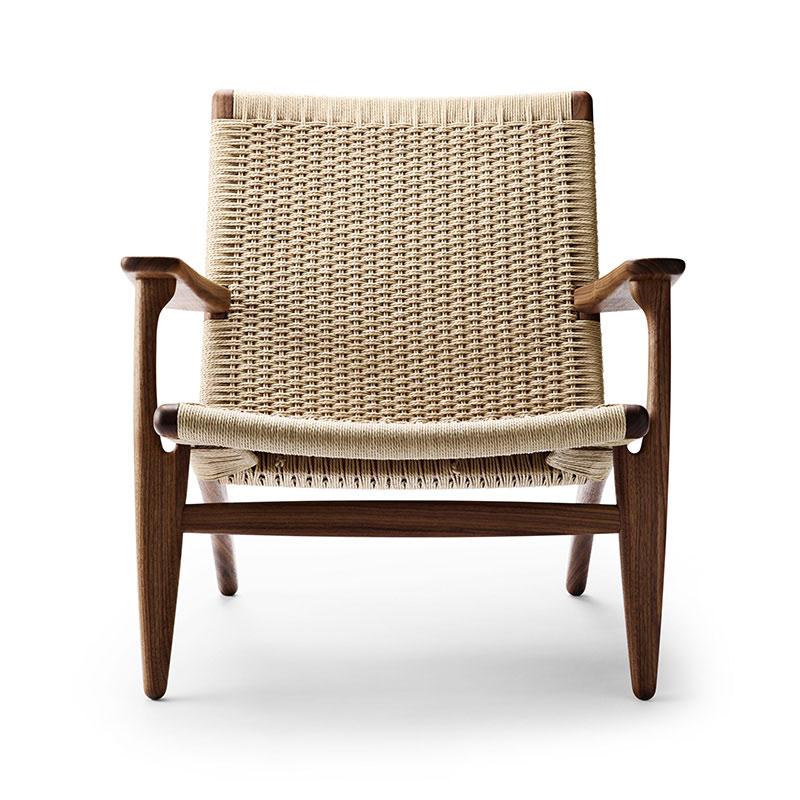 Carl Hansen CH25 Lounge Chair by Hans Wegner