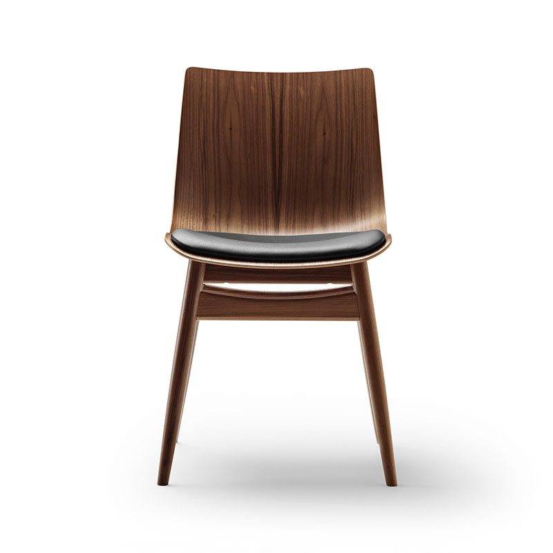Carl Hansen BA001S Preludia Wood Seat Upholstered Chair by Brad Ascalon