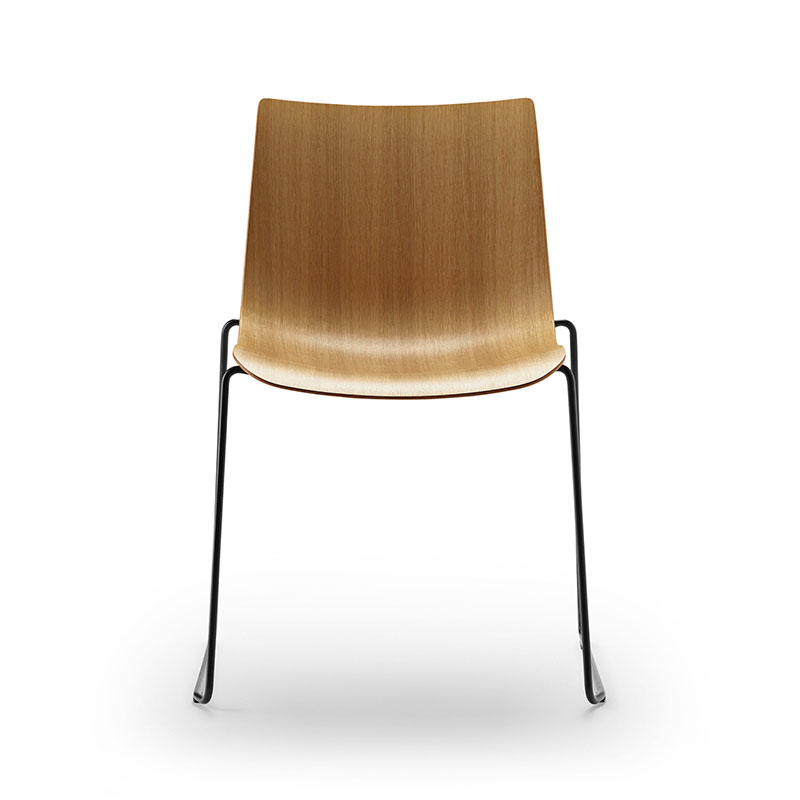 Carl Hansen BA003T Preludia Sled Chair by Brad Ascalon