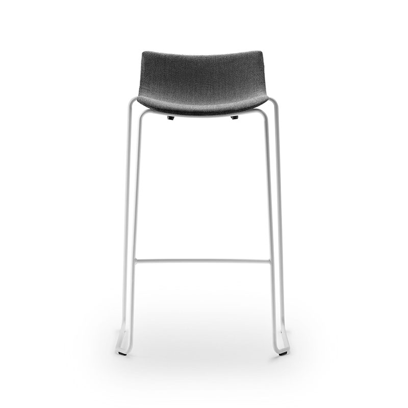 Carl Hansen BA004F Preludia Fully Uphostered Counter Stool by Brad Ascalon
