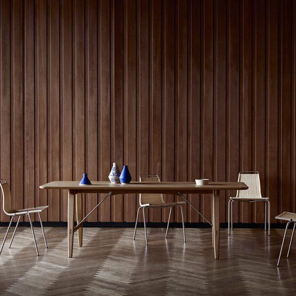 BM1160 Hunting 210x82cm Dining Table