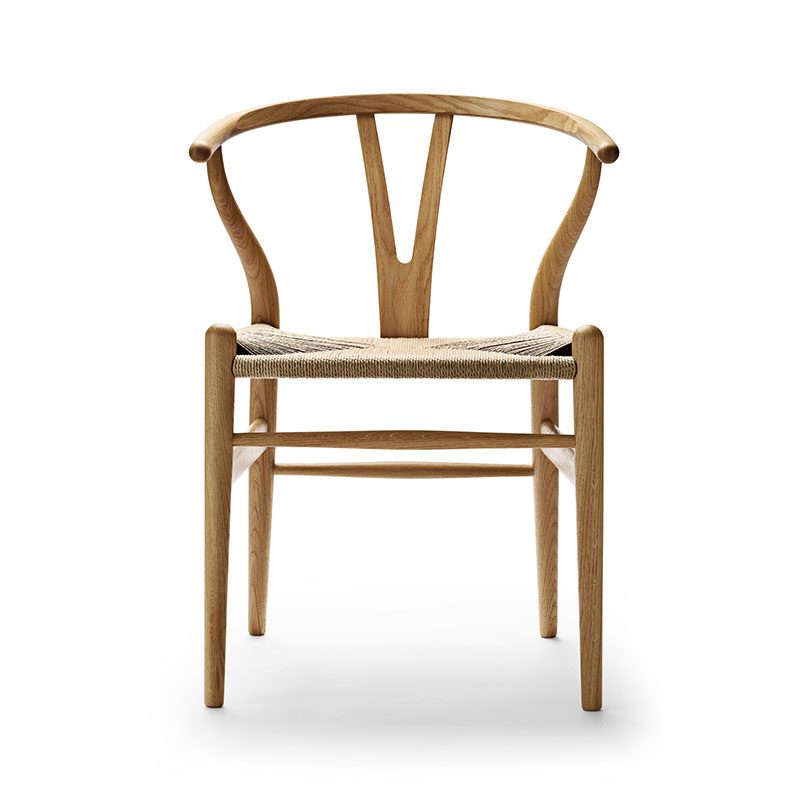 Carl Hansen CH24 Wishbone Chair by Hans Wegner Olson and Baker - Designer & Contemporary Sofas, Furniture - Olson and Baker showcases original designs from authentic, designer brands. Buy contemporary furniture, lighting, storage, sofas & chairs at Olson + Baker.