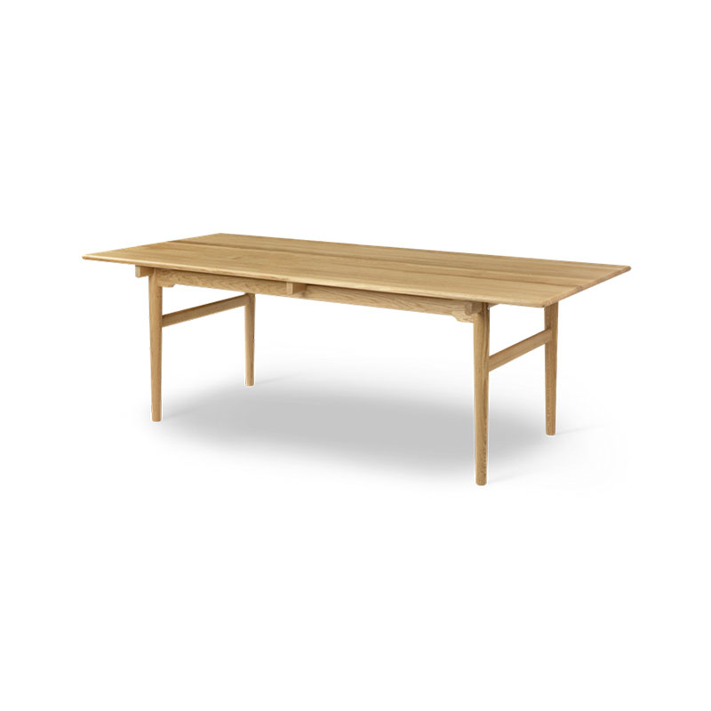 Carl Hansen CH327 248-368x95cm Extendable Dining Table by Hans Wegner