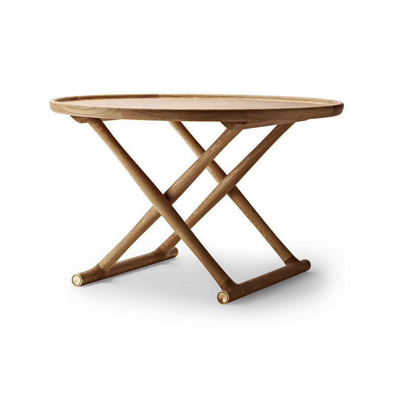 Carl Hansen ML10097 Ø100cm Egyptian Table by Mogens Lassen