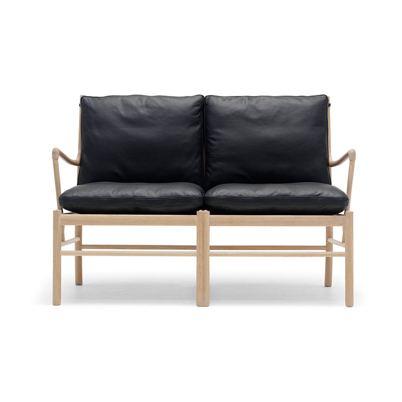Carl Hansen OW149-2 Colonial Two Seat Sofa by Ole Wanscher