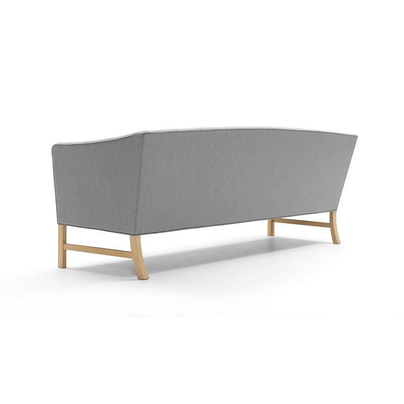 Carl Hansen OW603 Three Seat Sofa by Ole Wanscher 3 Kvadrat - 124 Canvas 2 Olson and Baker - Designer & Contemporary Sofas, Furniture - Olson and Baker showcases original designs from authentic, designer brands. Buy contemporary furniture, lighting, storage, sofas & chairs at Olson + Baker.