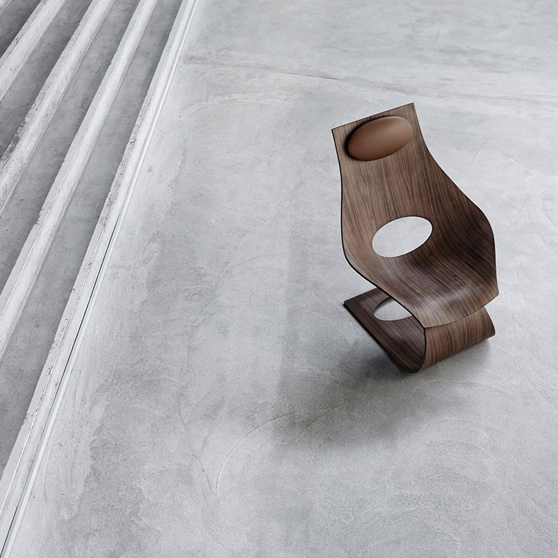 Carl Hansen TA001T Unupholstered Dream Chair by Tadao Ando Walnut 3 Olson and Baker - Designer & Contemporary Sofas, Furniture - Olson and Baker showcases original designs from authentic, designer brands. Buy contemporary furniture, lighting, storage, sofas & chairs at Olson + Baker.