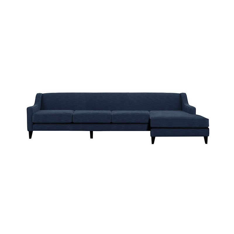 Olson and Baker Goodall Four Seat Corner Sofa with Chaise by Olson and Baker Studio