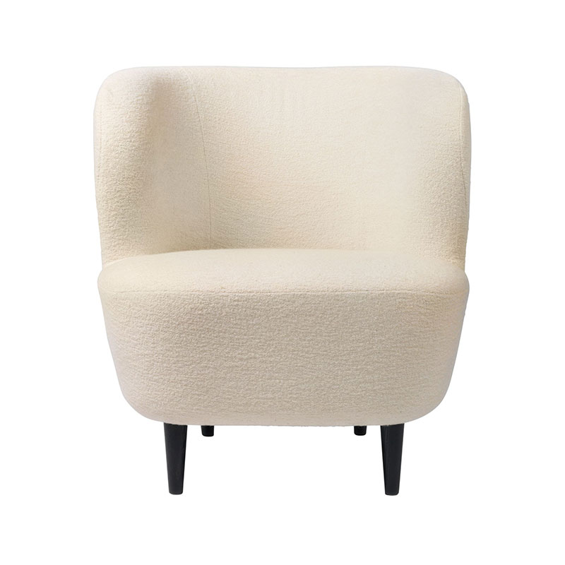 Gubi Stay Small Lounge Chair by Space Copenhagen Olson and Baker - Designer & Contemporary Sofas, Furniture - Olson and Baker showcases original designs from authentic, designer brands. Buy contemporary furniture, lighting, storage, sofas & chairs at Olson + Baker.