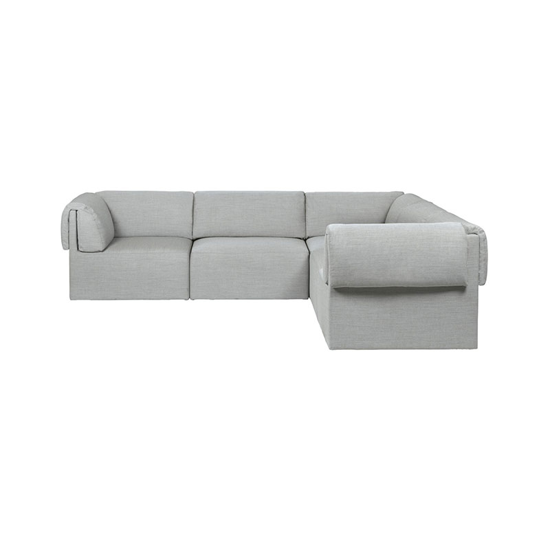 Gubi Wonder 3x2 Seat Corner Sofa by Space Copenhagen