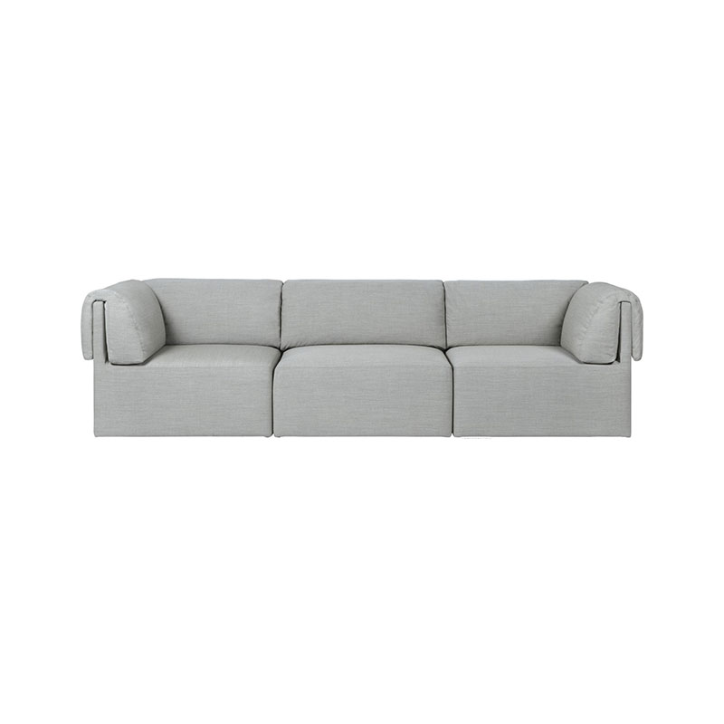 Gubi Wonder Three Seat Sofa by Space Copenhagen