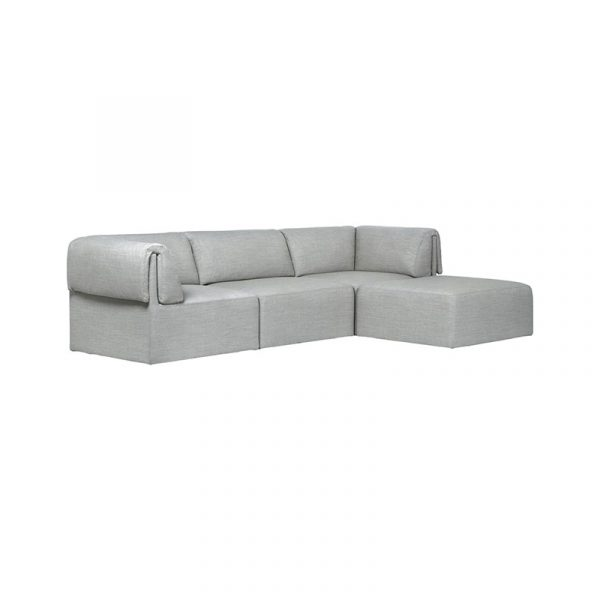 Wonder Three Seat Sofa with Chaise Lounge