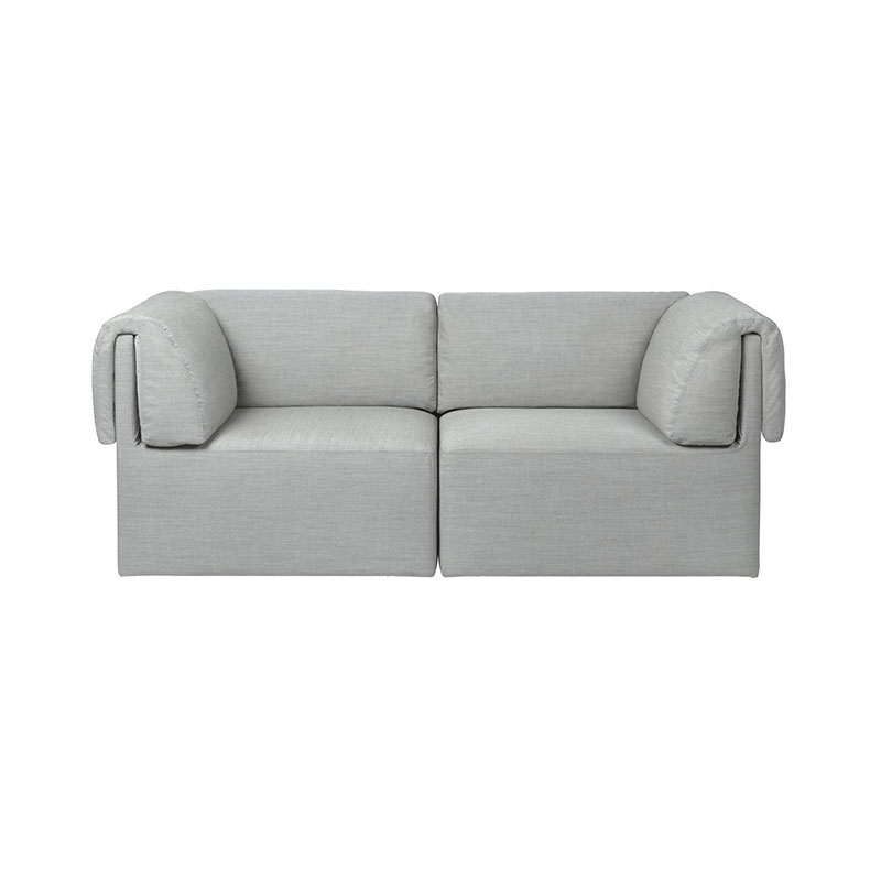 Gubi Wonder Two Seat Sofa by Space Copenhagen