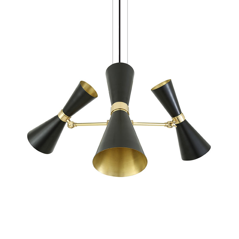 Mullan_Lighting_Cairo_3_Arm_Chandelier_by_Mullan_Lighting_Black_1 Olson and Baker - Designer & Contemporary Sofas, Furniture - Olson and Baker showcases original designs from authentic, designer brands. Buy contemporary furniture, lighting, storage, sofas & chairs at Olson + Baker.