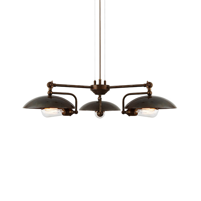 Mullan Lighting Cullen B Three Arm Chandelier by Mullan Lighting Olson and Baker - Designer & Contemporary Sofas, Furniture - Olson and Baker showcases original designs from authentic, designer brands. Buy contemporary furniture, lighting, storage, sofas & chairs at Olson + Baker.