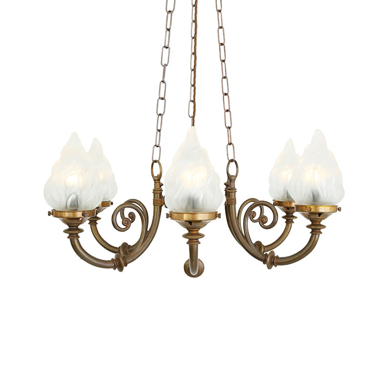 Mullan_Lighting_Darwin_Chandelier_by_Mullan_Lighting_Antique_Brass_1 Olson and Baker - Designer & Contemporary Sofas, Furniture - Olson and Baker showcases original designs from authentic, designer brands. Buy contemporary furniture, lighting, storage, sofas & chairs at Olson + Baker.