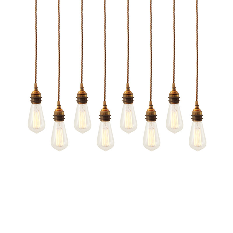 Mullan Lighting Lome Cluster of Eight Chandelier by Mullan Lighting Olson and Baker - Designer & Contemporary Sofas, Furniture - Olson and Baker showcases original designs from authentic, designer brands. Buy contemporary furniture, lighting, storage, sofas & chairs at Olson + Baker.