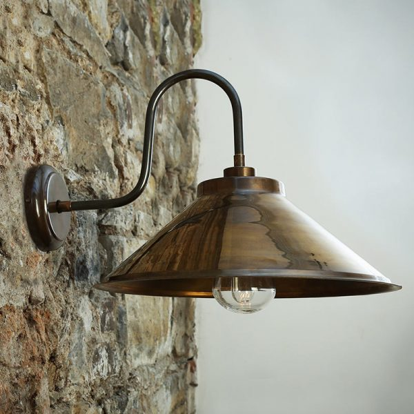 Nerissa Swan Neck Wall Lamp