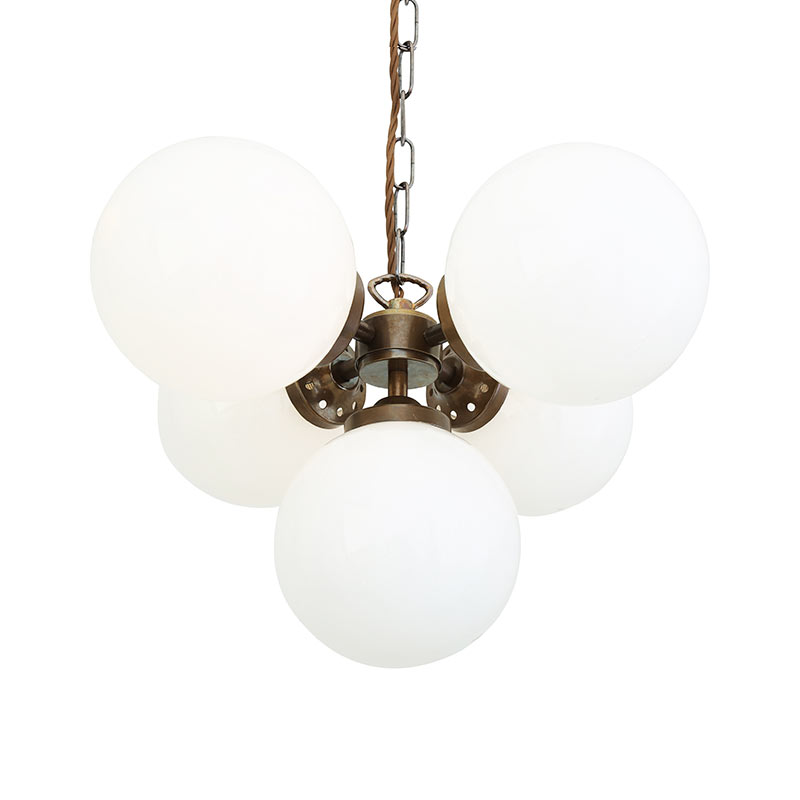 Mullan_Lighting_Yaounde_Chandelier_by_Mullan_Lighting_Antique_Brass_1 Olson and Baker - Designer & Contemporary Sofas, Furniture - Olson and Baker showcases original designs from authentic, designer brands. Buy contemporary furniture, lighting, storage, sofas & chairs at Olson + Baker.