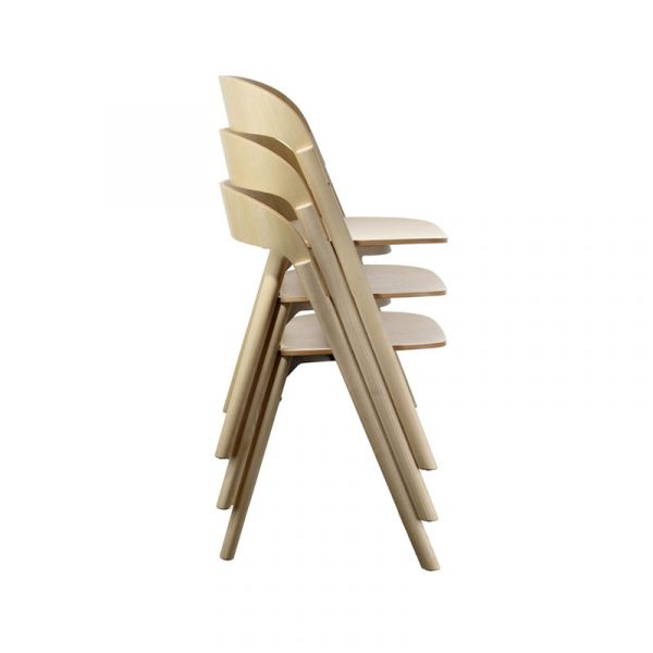 Pila Stacking Chair Set of Two