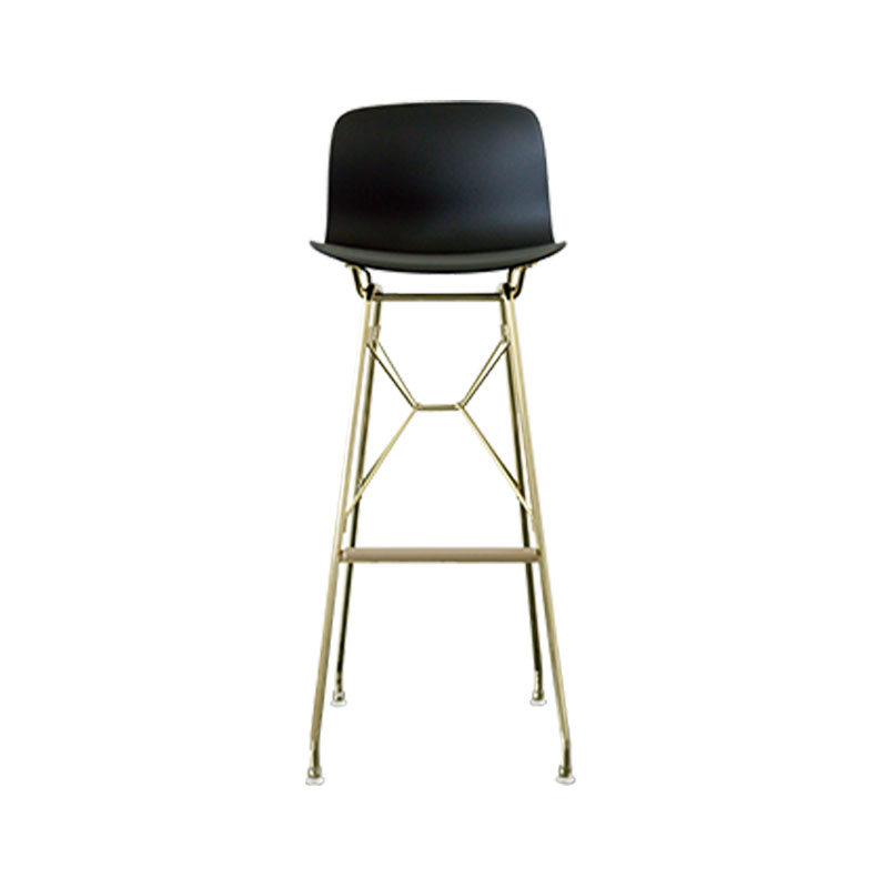 Magis Troy Bar Stool with Steel Rod Base by Marcel Wanders