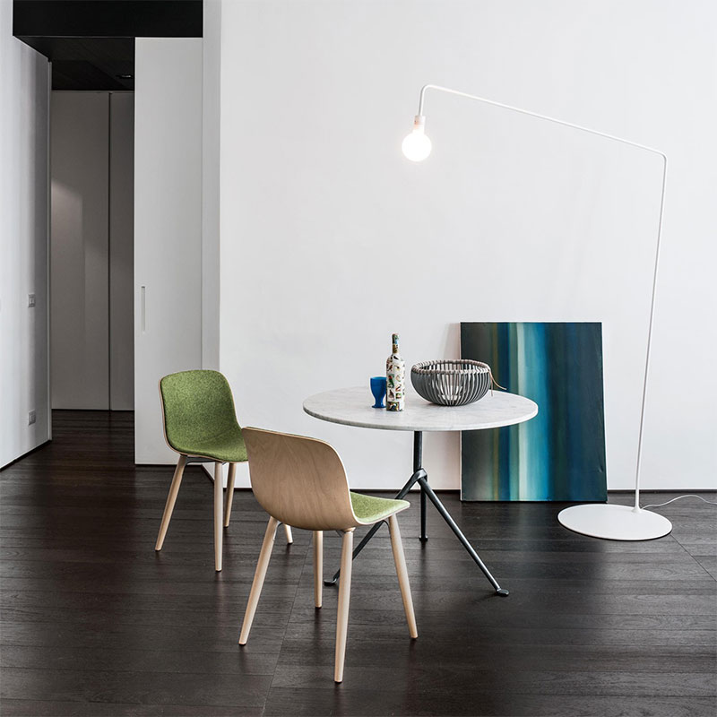 Magis Troy Chair with Beech Base by Marcel Wanders