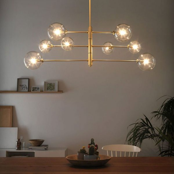 Aromas-Atom-Pendant-Lamp-by-AC-Studio-2 Olson and Baker - Designer & Contemporary Sofas, Furniture - Olson and Baker showcases original designs from authentic, designer brands. Buy contemporary furniture, lighting, storage, sofas & chairs at Olson + Baker.