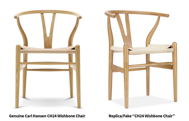 Fake-Replica-VS-Genuine-Quthentic-Carl-Hansen-CH24-Wishbone-Chair-Olson-and-Baker