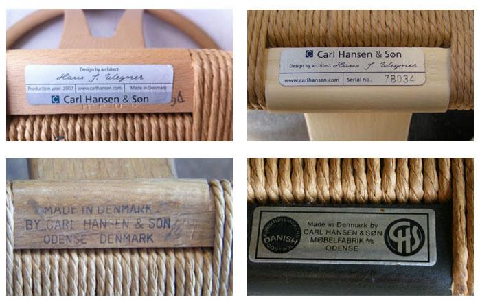 Genuine-Quthentic-Carl-Hansen-Tags-Olson-and-Baker-CH24-Wishbone