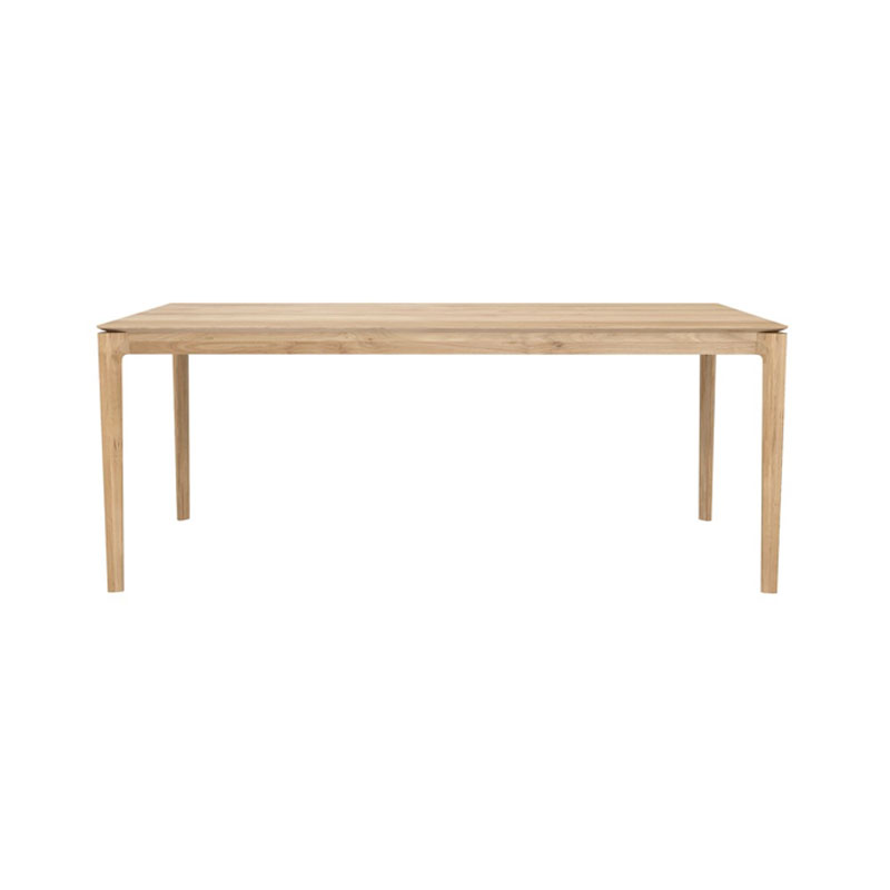 Ethnicraft Bok 160x80cm Rectangular Dining Table by Alain Van Havre Olson and Baker - Designer & Contemporary Sofas, Furniture - Olson and Baker showcases original designs from authentic, designer brands. Buy contemporary furniture, lighting, storage, sofas & chairs at Olson + Baker.